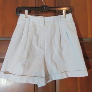 NORTON McNAUGHTON Gray Shorts Size 10 High Rise